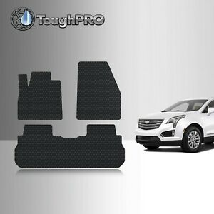 Toughpro Floor Mats Black For Cadillac Xt5 All Weather Custom Fit 2017 2021