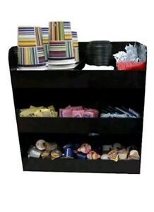 3 Tier Coffee Condiment Organizer Rack Sandusky Buddy Products 9143 4