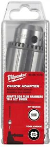 Milwaukee Sds Chuck Adapter Kit 1 2 In Chuck Chuck Screw Chuck Key