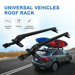 Window Door Frame Clamp Universal Roof Rack Cross Bar Car Pickup Truck Sedan