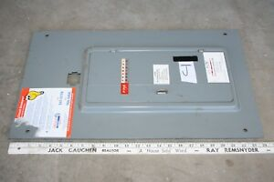 Federal Pacific Panel Cover 200 Amp Main Breaker L124 40 Lot J