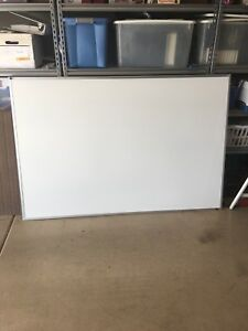 Large Whiteboard Dry Erase Board 4ft X 6ft Local Pickup