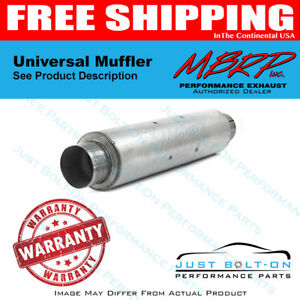 Mbrp Universal Muffler 4in Inlet Outlet 30in Length Al M20681
