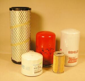 Kubota L3010 L3130 L3410 L3430 L4330 Filter Kit Hst Models Top Quality