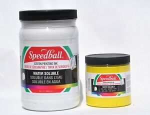 Speedball 4583 Non toxic Non flammable Water Soluble Screen Printing Ink 1 Jar