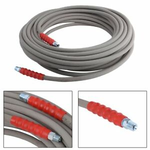 100 High Water Pressure Washer Hose With Quick Connects 4000 Psi 3 8 2018 Mx