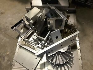 50 Lbs Aluminum Scrap Industrial Extruded High End Pieces Clean New Sale 99