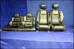 2010 2011 2012 Ford Mustang Leather Oem California Special Seats Coupe Front