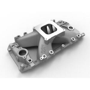 Holley Intake Manifold 300 563 Aluminum For Chevy 396 454 Bbc