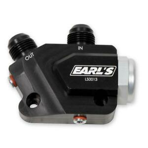 Earl S Engine Oil Cooler Adapter Ls0013erl