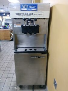 Electro Freeze 88t rmt 232 Soft Serve Ice Cream Machine 3 Ph Air Cooled 2007