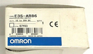 Omron E3s ar86 new Photo Electric Switch