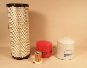 Kubota L2800 L3400 L3200 And L3800 Filter Kit Non Hst Top Qualityi