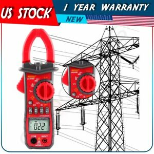 Digital Clamp Meter Ac dc Current Voltage Multimete Temp Test Batter Than Uni t