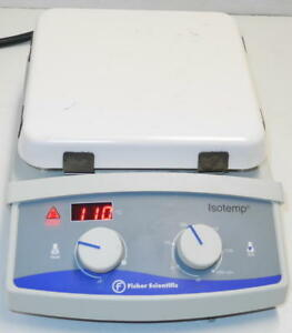 Fisher Scientific Isotemp Digital Hot Plate And Magnetic Stirrer 11 100 49sh