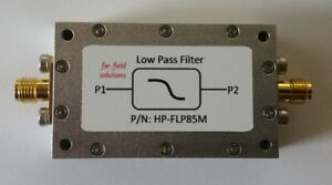 Rf Low Pass Filter Fc 85mhz Vhf 100w Cw Power