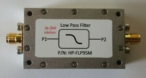 Rf Low Pass Filter Fc 95mhz Vhf 100w Cw Power