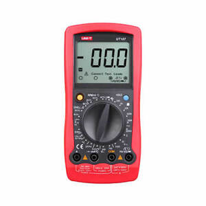 Ut107 Automotive Digital Multimeter 2000 Counts Tach Dwell Battery Voltage Test