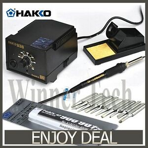 Hakko 936 Ac 110v 220v Soldering Station 907 Soldering Handle a1321 Heat Element