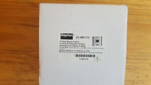 New In Box Dayton 48c173 Speed Control 10 Amps
