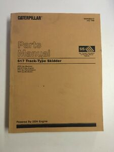 Caterpillar 517 Track Type Skidder Parts Manual S n 6pw1 Up Powered By 3304