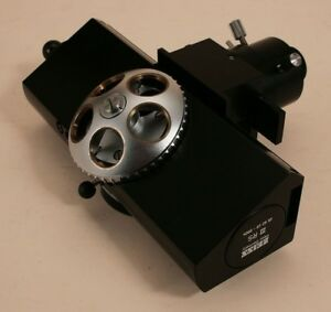 Zeiss Microscope Iiirs Vertical Illuminator Fluorescence Attachment With Filters