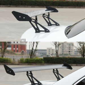 Universal 53 Aluminum Adjustable Gt Style Rear Car Trunk Racing Spoiler Wing