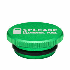 Green Fuel Cap For Dodge Ram Cummins With Magnetic 2013 2017 Auto Parts