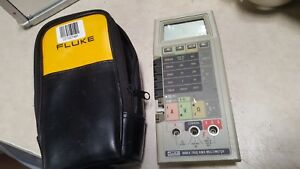 Fluke 8060a aa True Rms Multimeter With Cords No Power Cable