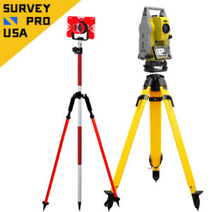Geomax Zoom25 Nexus5 2 500m Reflectorless Prism Total Station Starter Package