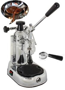 La Pavoni Pl Professional Chrome Espresso Coffee Machine Naked Portafilter