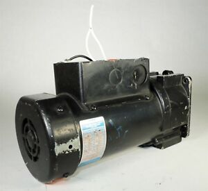 Used Leeson Um38p17fz7c 115v M1145018 00 Ac Gearmotor Missing Wire Cover I2