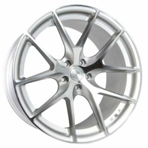 Aaodhan Ls007 18x8 35 18x9 30 5x114 3 Silver Mustang Gt Genesis Coupe Tl Rx7