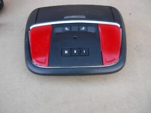 2015 2016 2017 Dodge Charger Overhead Roof Console W homelink Oem