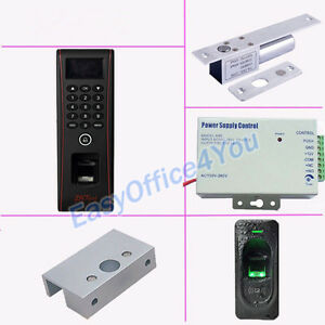Zk Biometric Fingerprint Entry Exit Access Control Kits Zkteco Tf1700 Rf1200