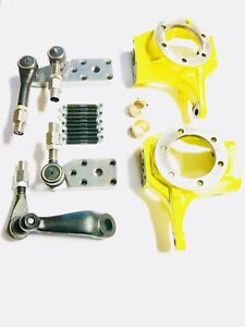Chevy Jeep Kingpin Dana 60 Complete 1 Ton Crossover Steering Kit W Knuckle
