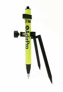 Adirpro Mini Stakeout Prism Pole Fluorescent Green