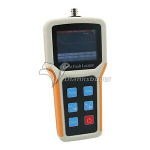Handheld S 600am Tdr Cable Fault Locator 2km Fast Tester Speed Accurate Tester