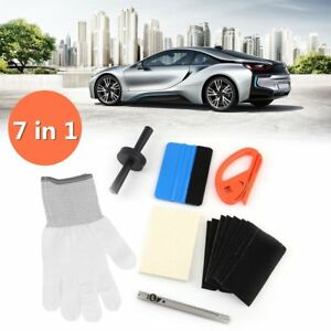 Pro Car Wrapping Tools Kit Car Window Tint Squeegee Vinyl Film Installation Mx