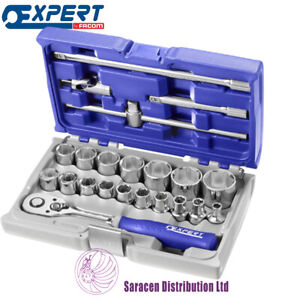 Expert By Facom 1 2 Socket And Accessory Set Metric 22 Pieces E032900