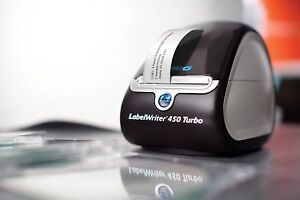Dymo Labelwriter 450 Turbo Thermal Label Printer 1752265 Brand New