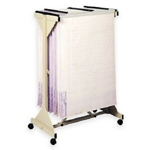 Safco 5060 Mobile Planning Center Hanging Flat File Stand Tropic Sand