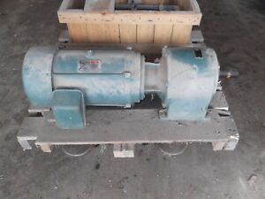 Reliance 20 Hp With Dodge Speed Reducer Electric Motor