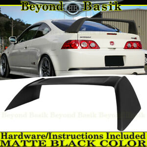 2002 2003 2004 2005 2006 Acura Rsx Type R Matte Black Factory Style Spoiler Wing