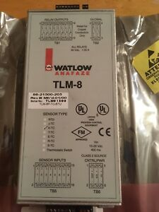 Watlow Tlm 8 Temperature Monitor Sensor Type K tc