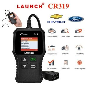 Launch Creader 6011 Obd2 Eobd Car Scan Tool Code Reader Abs Srs Engine Mil Check