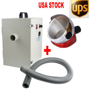 Dental Dust Collector Vacuum Cleaner For Sandblasters Polishing Lab free Gift