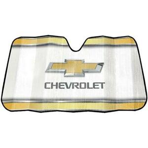 Plasticolor Chevy Logo Elite Series Front Car truck Windshield Sunshade Cover