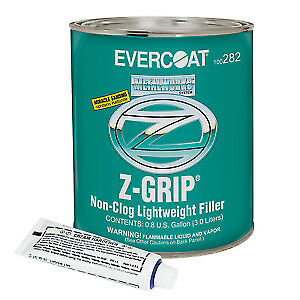 Evercoat Metal Work 282 Z Grip Non Clog Lightweight Best Body Filler Gallon Kit