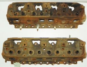 383 440 Big Block Mopar Heads 3462346 Dated 1452 Road Runner Challenger Cuda